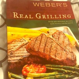 Weber's Real Grilling book